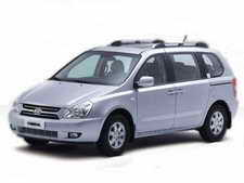 Cuba Rental Car Kia Carnival Automatic