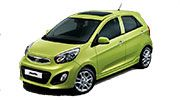 Cuba Rental Car Kia Picanto Manual