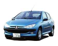 Cuba Rental Car Peugeot 206 Manual