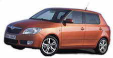 Cuba Rental Car Skoda Fabia Hatchback Manual